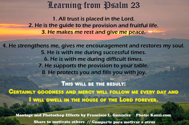 Psalm 23 Learnings